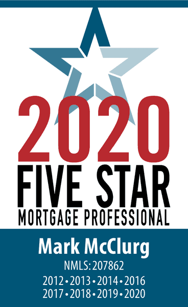 Five Star Mortgage Professional, Mark McClurg